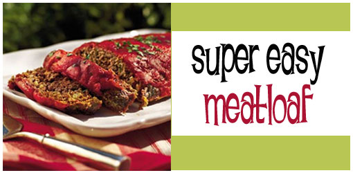 Easy meatloaf recipes 1 lb ground beef