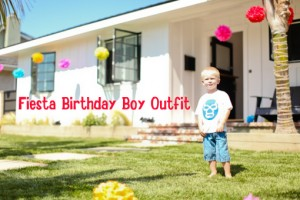 Fiesta Birthday Boy T-Shirt