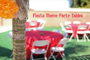 Fiesta Party Tables