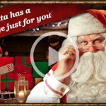 Free Personalized Santa Video Message