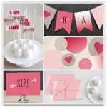 Minted Valentine's Day Party Decor