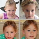 Styling Options for Growing Out Girl's Bangs