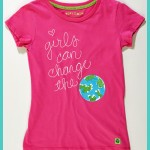 VeryMeri: Girls Can Change the World tee
