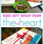 Kids' Gift Wrapping Idea