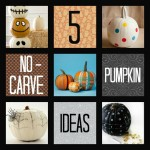 5 No-Carve Pumpkin Ideas