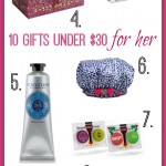 Gift ideas for her under $30