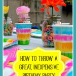 How to Throw an Inexpensive Birthday Party