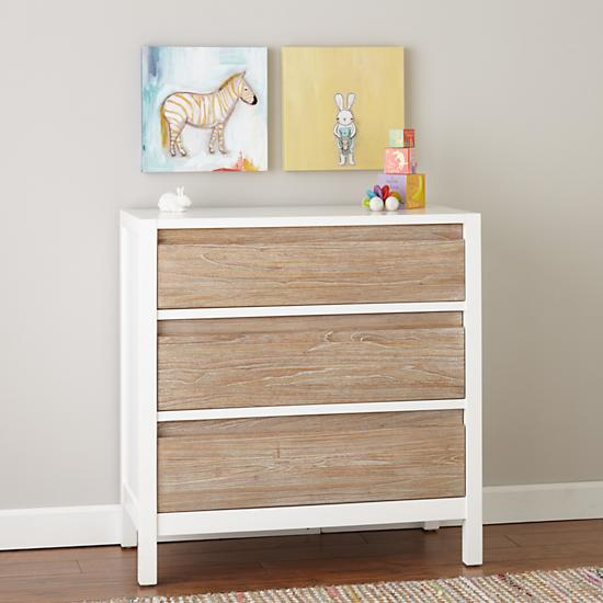 Andersen 3 Dresser Drawer Whitewash