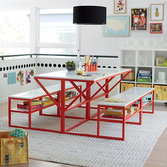 New School Table With Bench