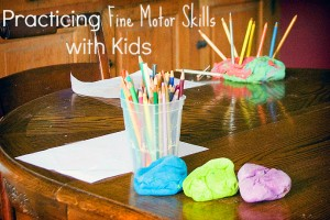Ways to practice fine motor skills with kids