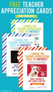 Free Funny Teacher Appreciation Cards