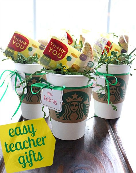 Teacher Gifts - Coffee Gift