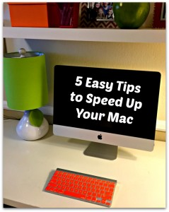 5 easy tips to speed up your mac