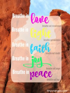 Breathe in Gratitude