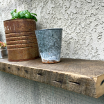 floating garden shelf