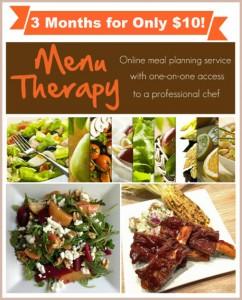 Menu Therapy Coupon Code