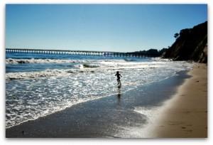 Bacara Review Beach