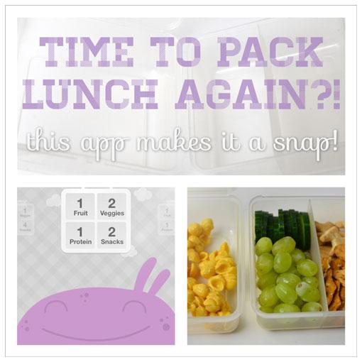 Lunch planning app