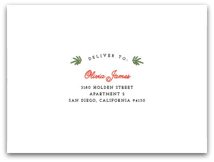 Free Envelope Design and Recipient Printing on Minted!