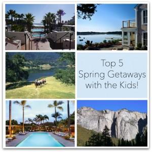 top spring getaways with kids