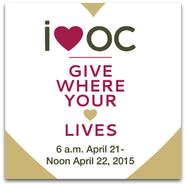 i♥oc Giving Day