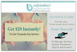Unbooked Appointments Coupon