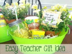 Easy Teacher Gift Idea - Summertime
