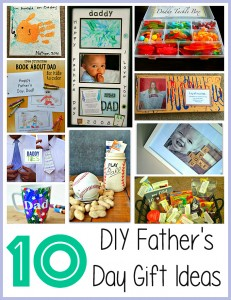 DIY Fathers Day Gift Ideas from Kids
