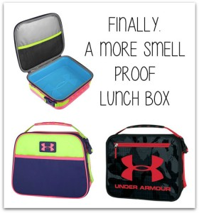 smell proof lunch box